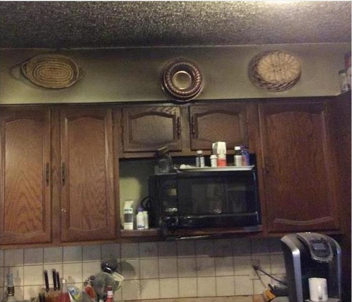 Glen Cove Fire and Smoke Damaged Kitchen Before